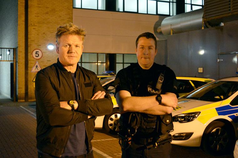 Gordan Ramsay joins Dorset Police in new series