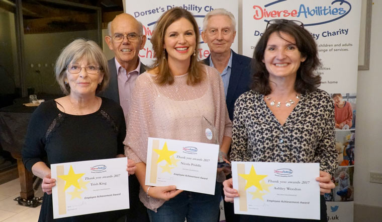 Diverse Abilities recently held its annual Thank You Awards in Poole