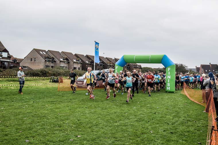 there were more than 150 participants at this year's Christchurch Running festival