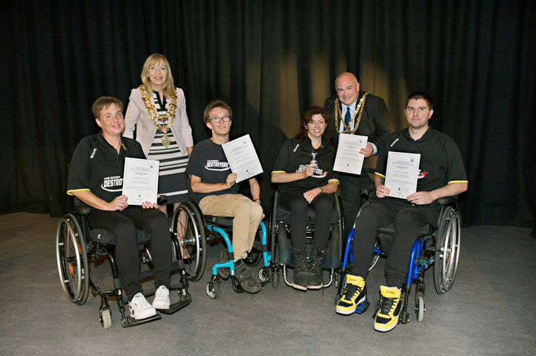 The Poole Sports Awards evening celebrated the hard work and dedication of Poole's sportsmen and women.