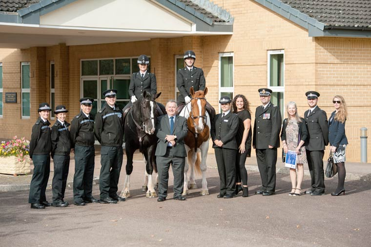 Dorset Police volunteers recognised at regional awards