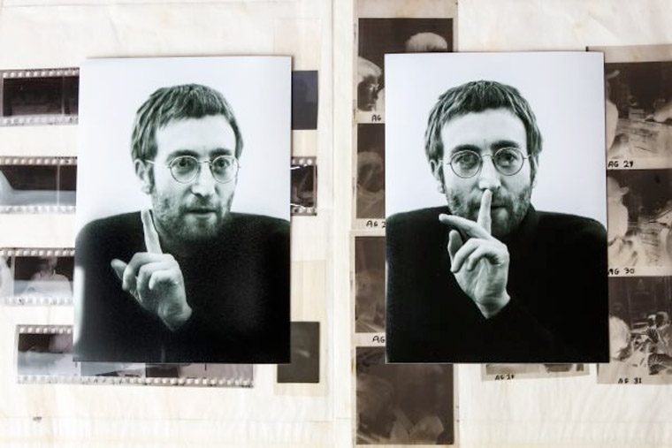 Rare images of John Lennon will be auctioned in Liverpool next October
