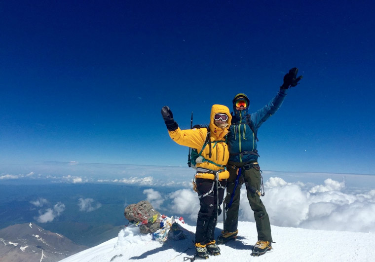 A couple and their friend are embarking on the last of Seven Summits in memory of John Thornton
