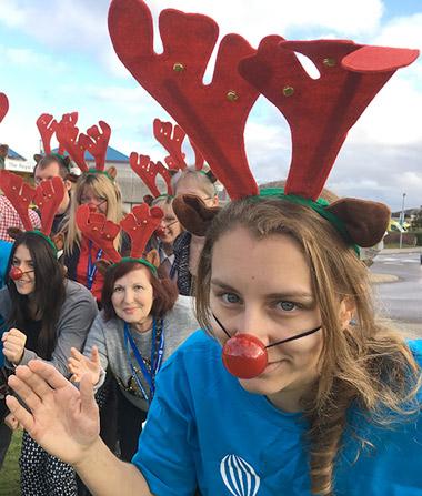Reindeer-themed fun run along Boscombe beach this December