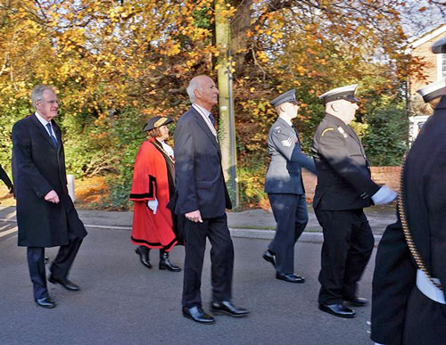 Good turnout for Remembrance weekend