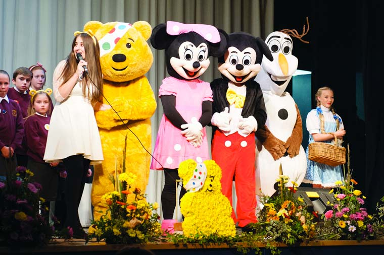 Gearing up for Children In Need