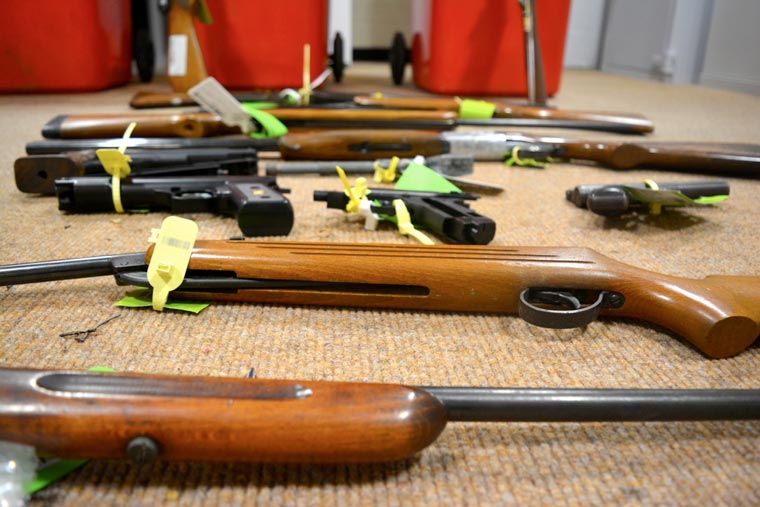Dorset Police's firearms surrender