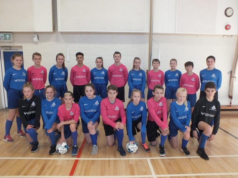 John Thornton Young Achievers Foundation provides sponsored football shirts