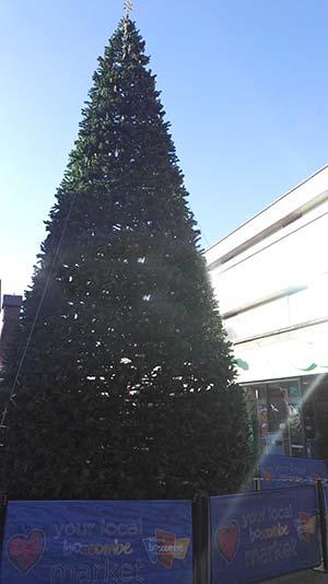 Boscombe Christmas tree