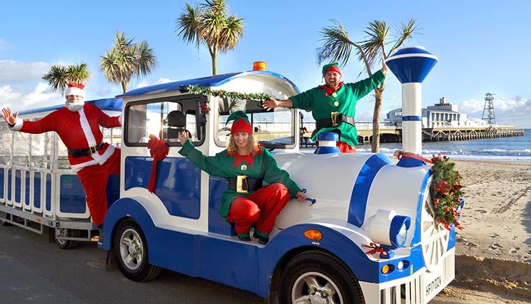 Bournemouth Christmas land train