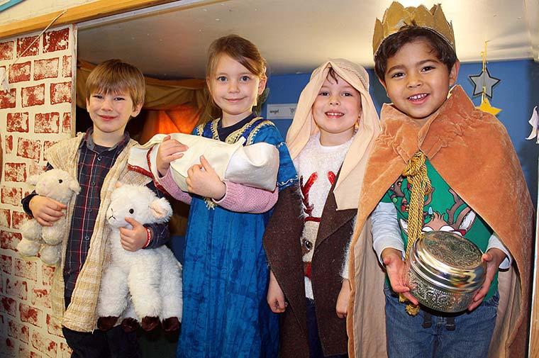 Colehill First School nativity play