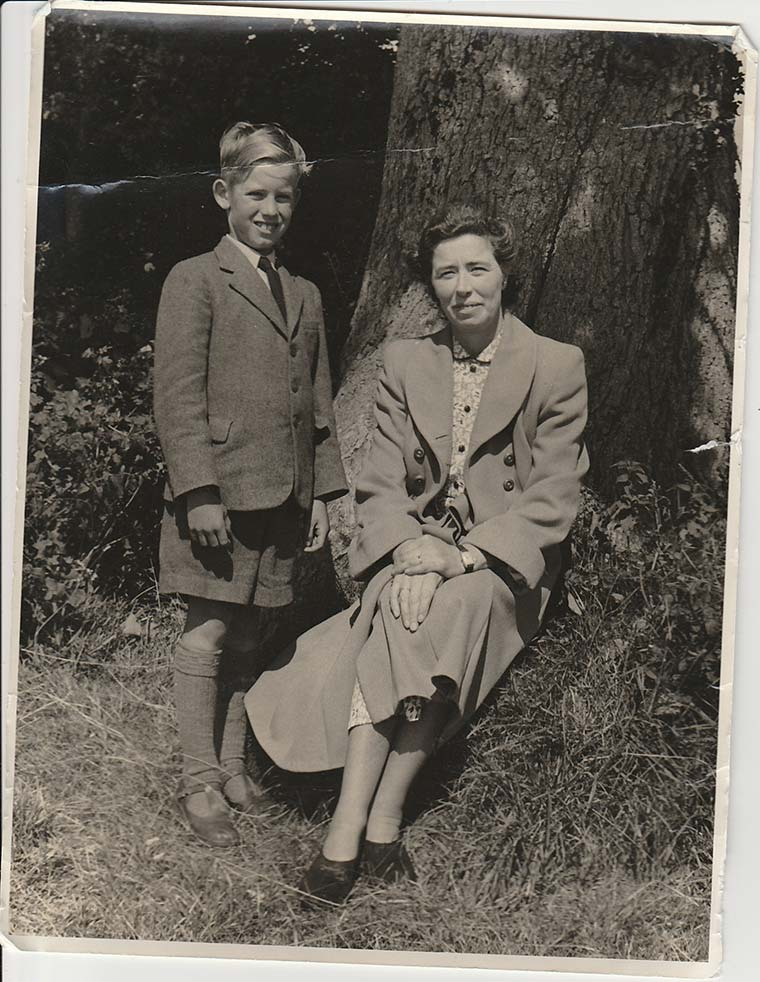 Violet and Peter Childs c1953