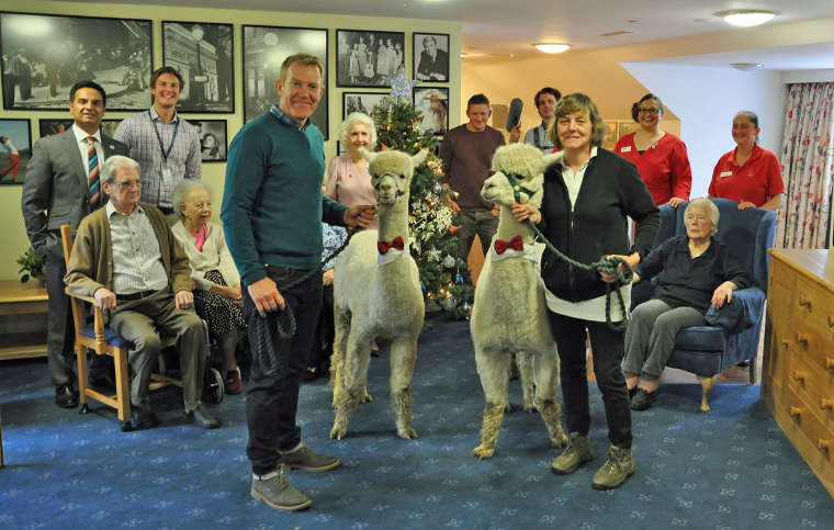 BBC Countryfile visits Sturminster Newton care home