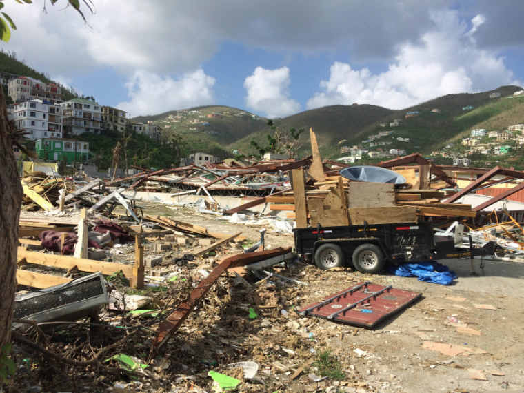 Christchurch-based steel company helps rebuild hurricane-hit Caribbean