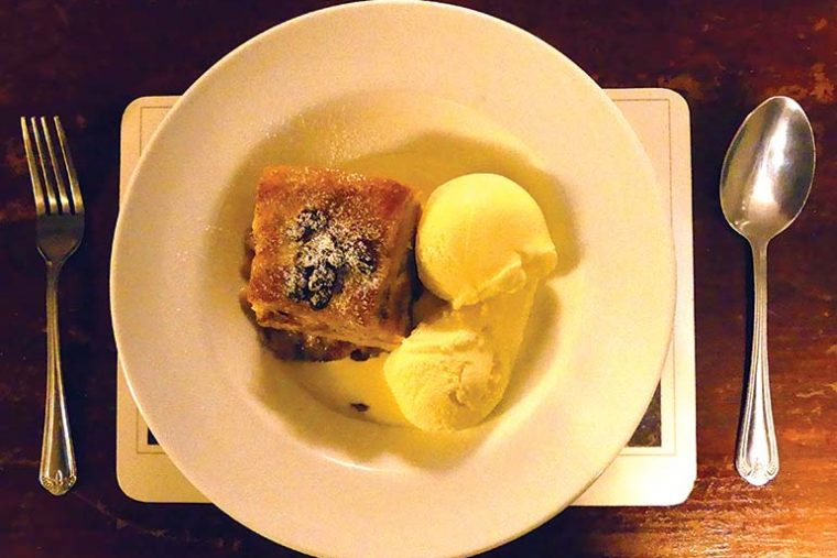 Old Cottage bread & butter pudding