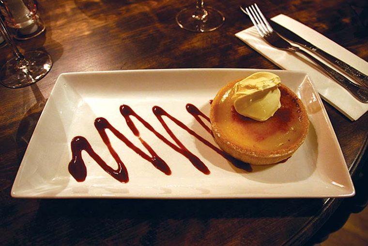 Old Inn lemon tart