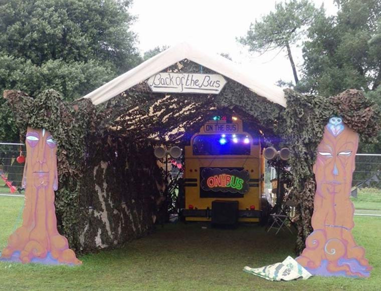 theft of DJ's horsebox in Bournemouth