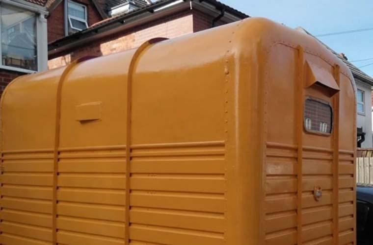 DJ's horsebox in Bournemouth