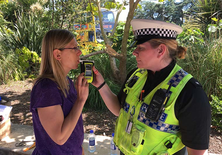 Christmas drink and drug drive campaign