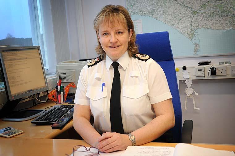 Chief Constable Debbie Simpson