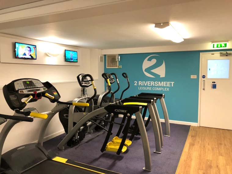 New gym equipment at Two Riversmeet