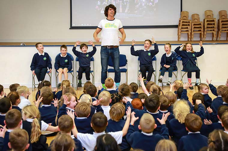 CBeebies' Andy Day at Avonwood Primary School