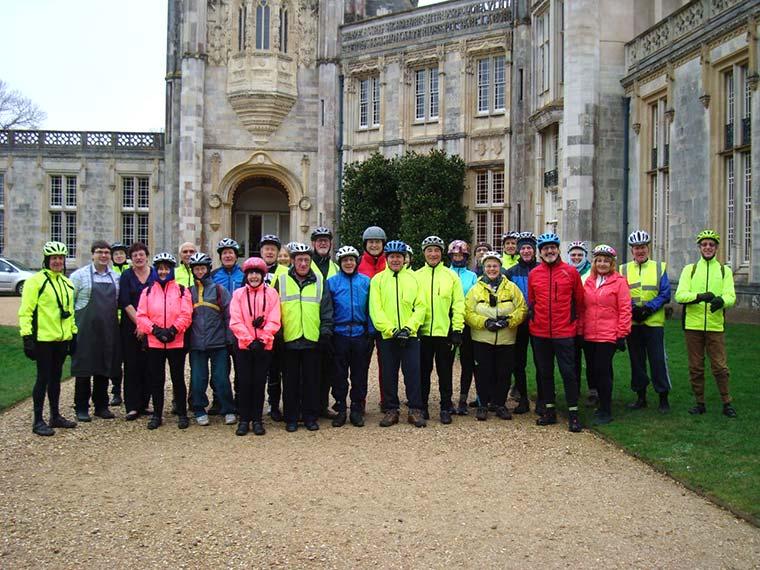 Christchurch cycling group