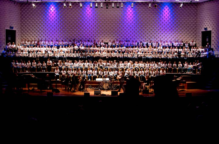 More than 200 young singers will be performing on the main stage in the Concert Hall at Lighthouse, Poole