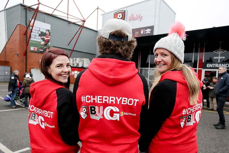 CherryBot at AFC Bournemouth