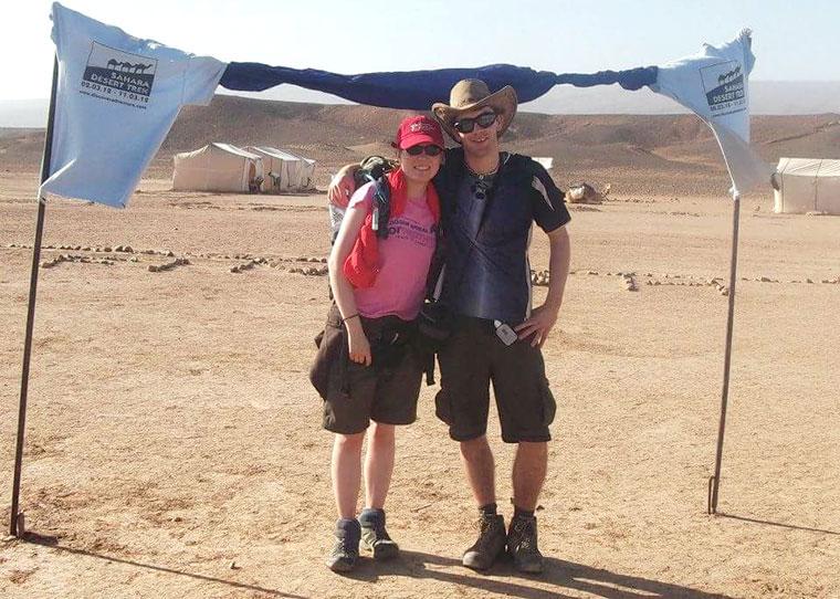 Beth Ryan Slattery Sahara Desert Trek Challenge