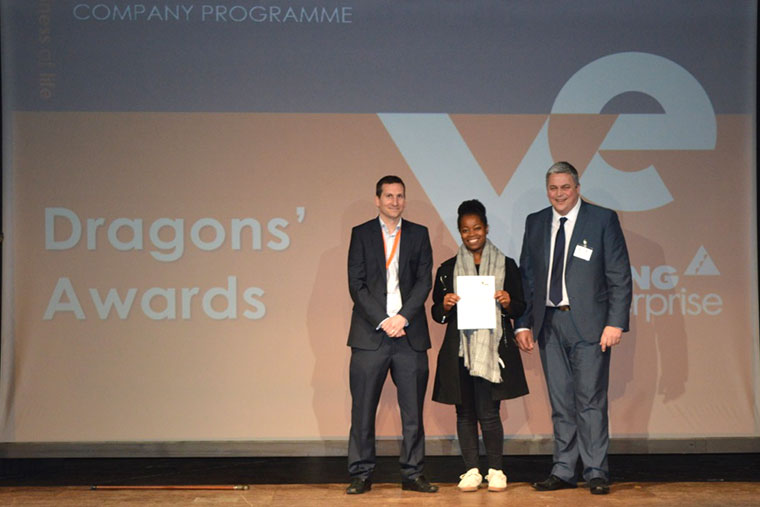 Young Enterprise Company Programme Dragons' Awards