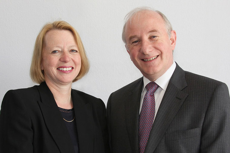 Peter Watson-Lee the chairman of Christchurch-based Williams Thompson Solicitors, and Firm partner Anne Watson-Lee