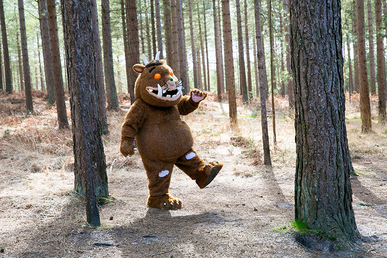 Meet The Gruffalo at Moors Valley
