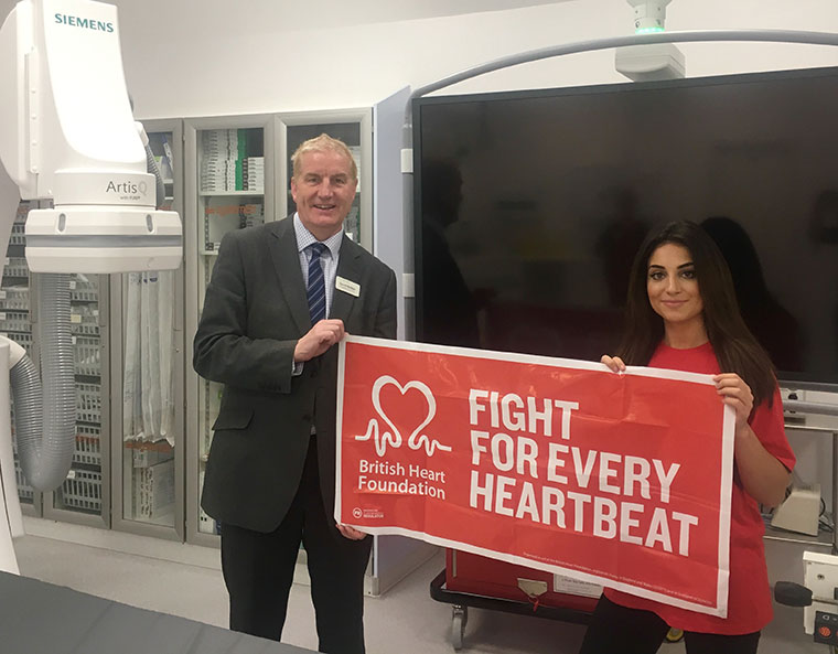 David McNair, Hospital Director and Maria Gratton-Heatley, Staff Nurse at Nuffield Health Bournemouth Hospital