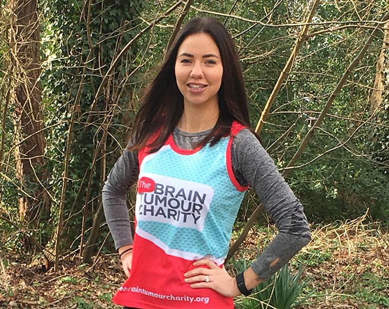 Tilly Dowley Virgin London Marathon