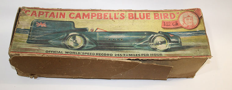 Captain Campbell's Blue Bird model