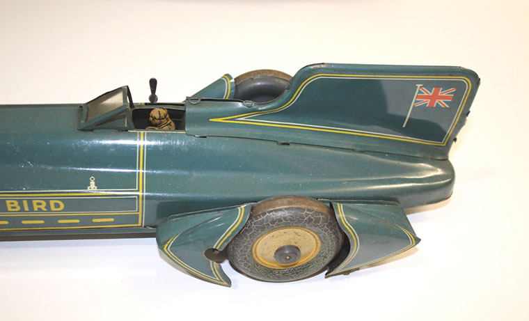 'Captain Campbell's Blue Bird' model set
