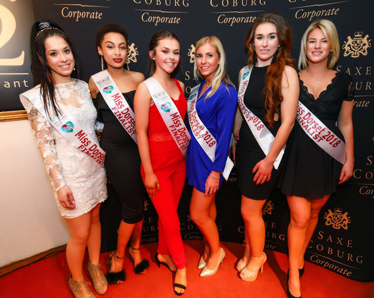 Miss Dorset launch Miss England Miss World