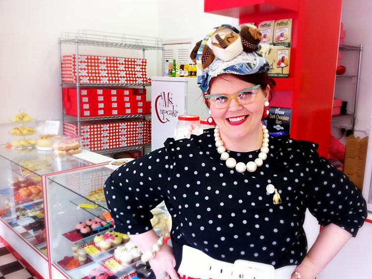 Vegan cupcake extraordinaire and blogger, Ms Cupcake