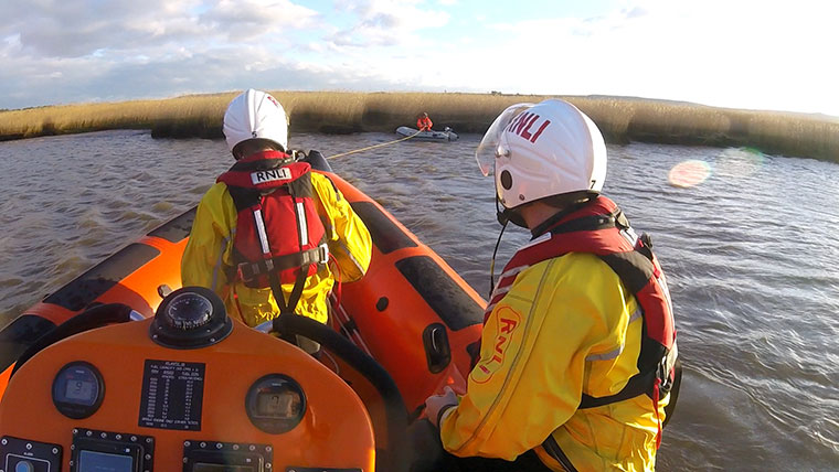 Poole Lifeboat call out February 2018