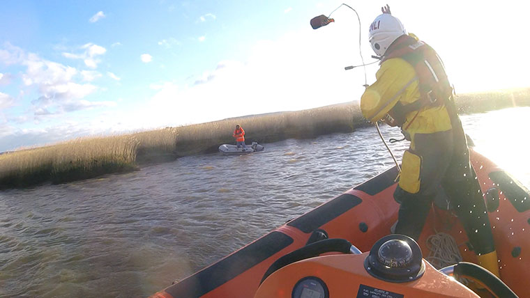 Poole Lifeboat call out 4 Feb 2018