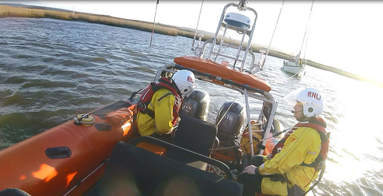 Poole Lifeboat call out