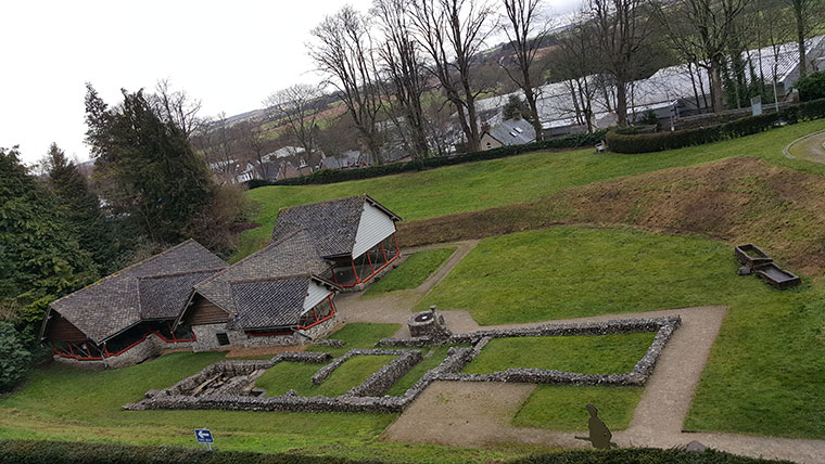 Roman Town House situated in Dorset