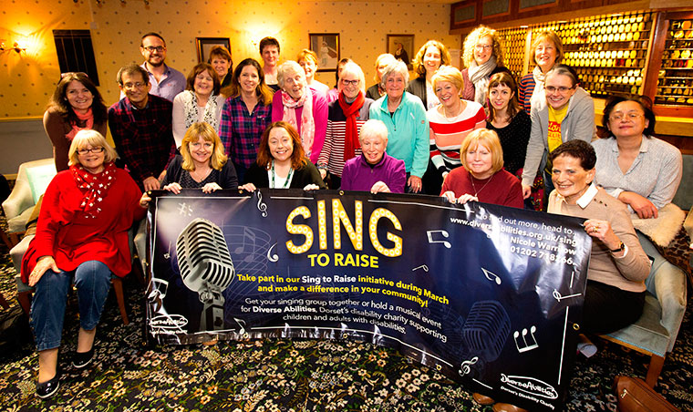 Diverse Abilities Sing to Raise