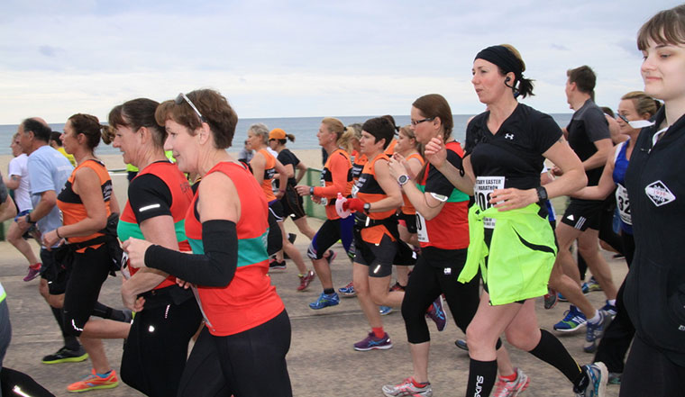 Easter quarter marathon for Bournemouth