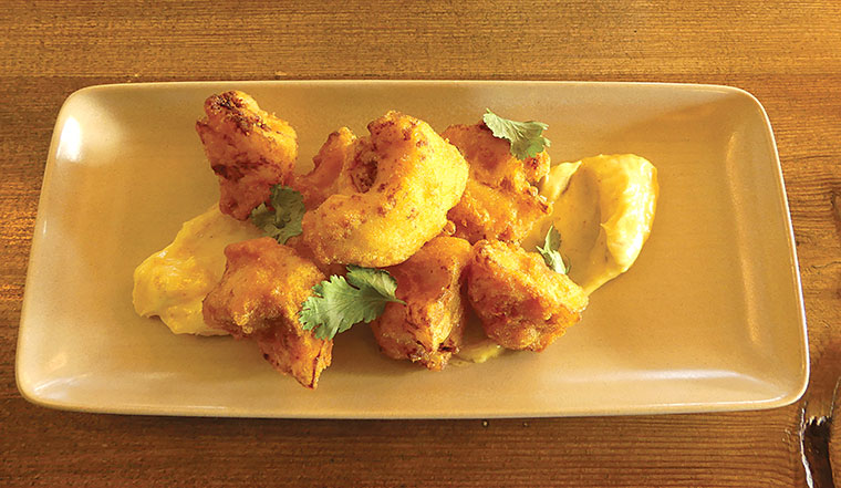 Alice Lisle cauliflower pakoras