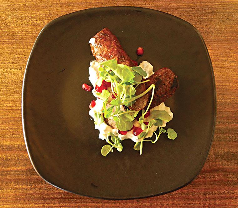 Alice Lisle grilled lamb koftas