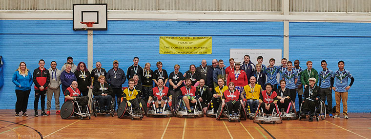 Dorset Destroyers Wheelchair Rugby