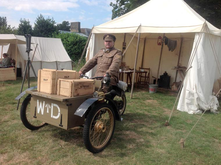 Wimborne Writing Competition: First World War memories of Wimborne