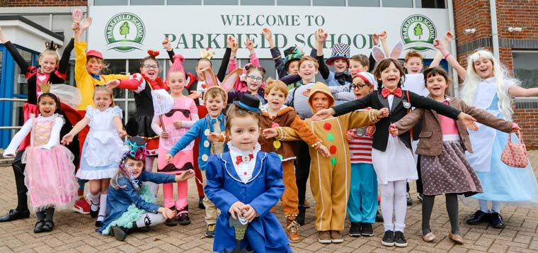 Round two: Parkfield World Book Day